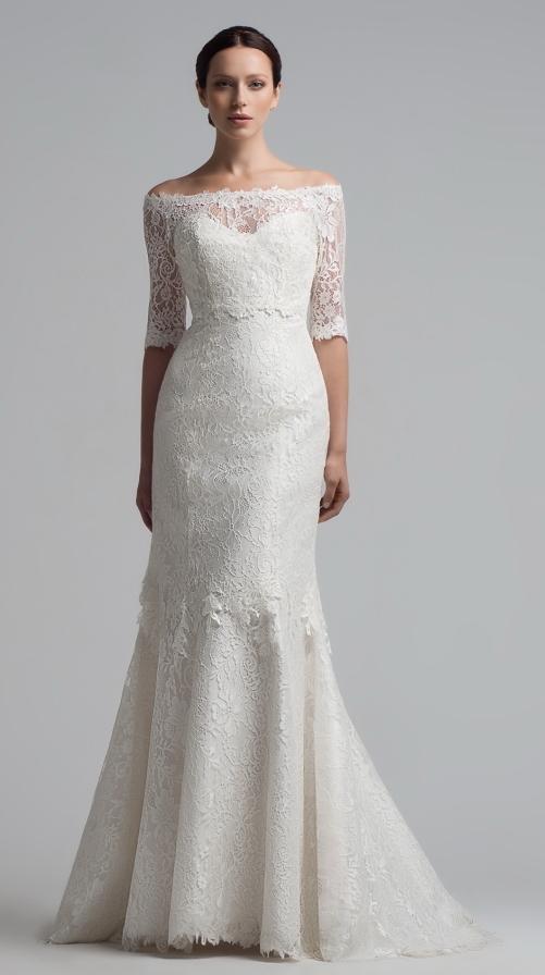 Купить свадебное платье на зиму