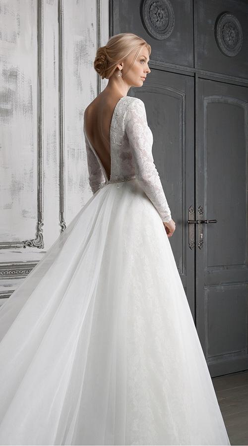 Платье свадебное с юбкой тюльпан