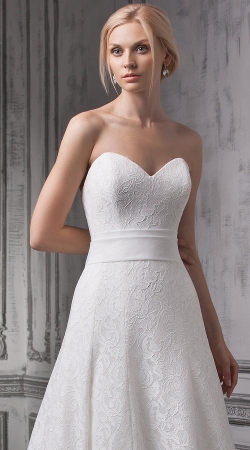 Платье годе кружево фото