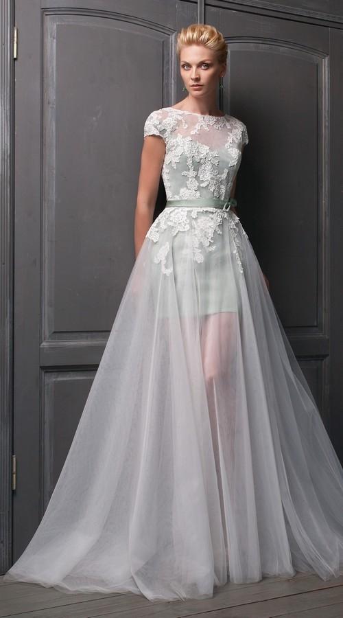 Фасон платья для осенней свадьбы